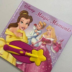 Disney Magic Moments book - with a magic wand